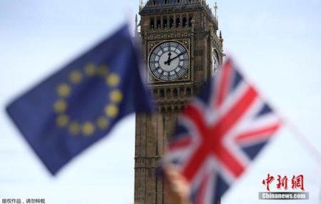 资料图:当地时间2016年6月23日,英国举行脱欧公投。